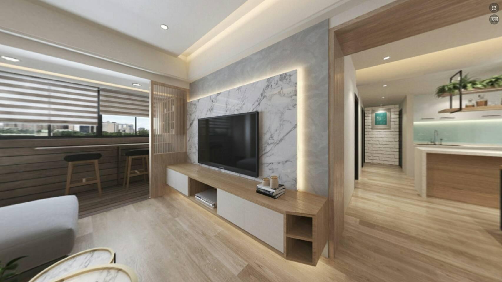 3D,720VR,環景圖,舊屋翻新\北歐風-室內設計,室內裝潢,裝潢,裝修,桃園室內設計,中壢室內設計,雅和室內設計,雅和設計