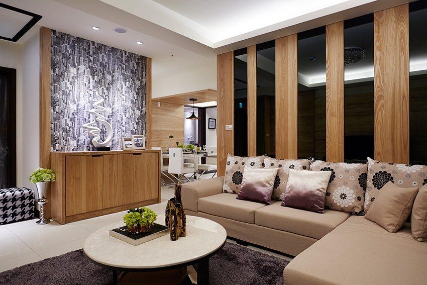 客廳,沙發背牆,新古典風,餐廳,奢華風,勾勒豪宅氣度\青埔室內設計-室內設計,室內裝潢,裝潢,裝修,桃園室內設計,中壢室內設計,雅和室內設計,雅和設計