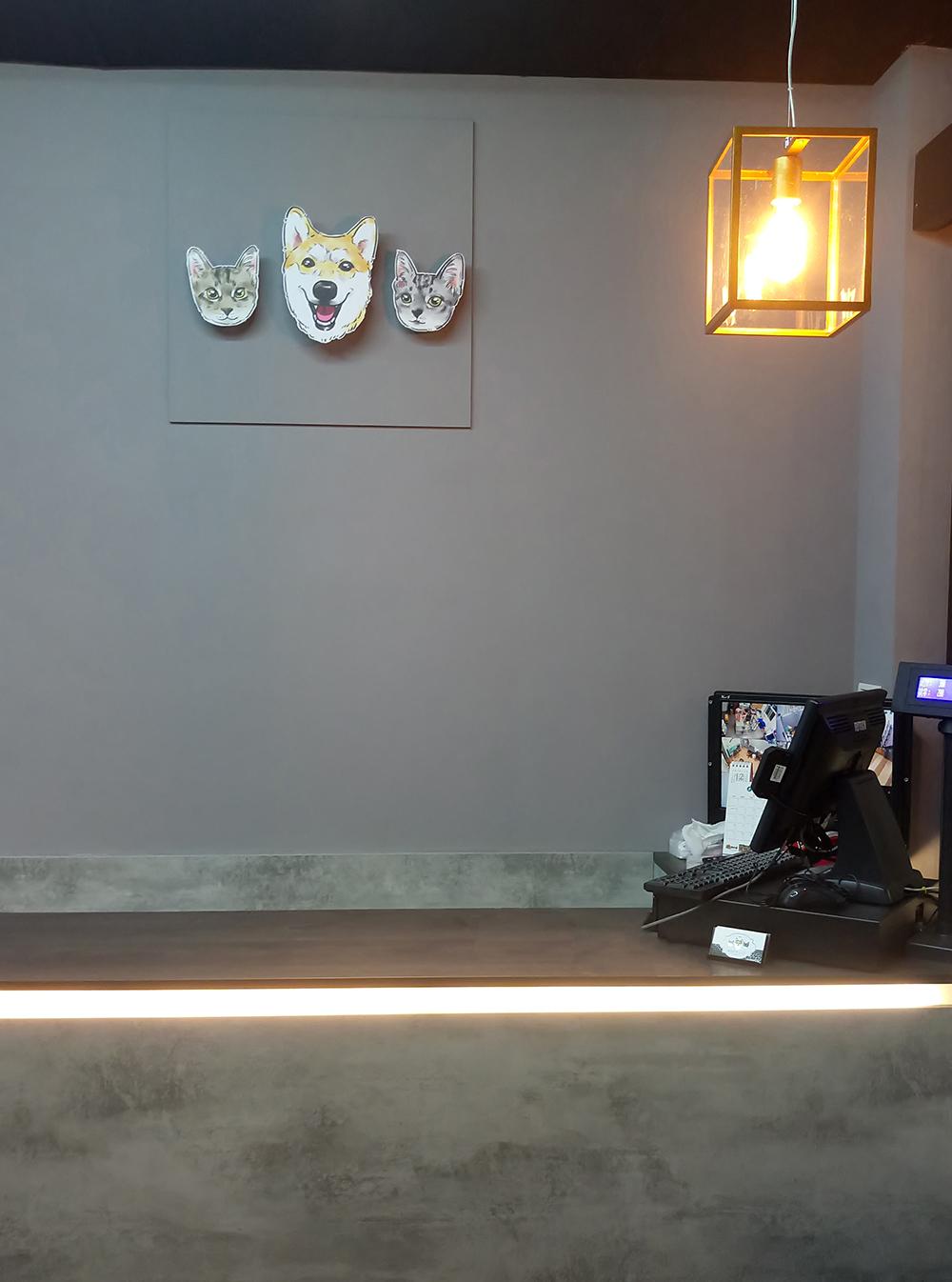 工業風\櫃台\嘟嘟寵物店\觀音區商業空間設計-室內設計,室內裝潢,桃園室內設計,中壢室內設計,雅和室內設計
